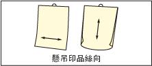 絲流與懸吊式印刷品